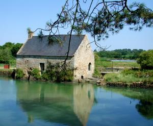 Le Moulin de Pomper à Baden dans le golfe du Morbihan