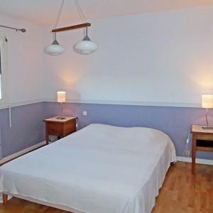Villa Er Scoudec : chambre double