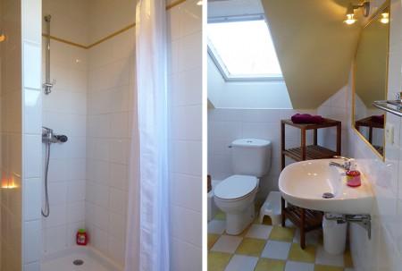 2 salles de bain