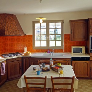 Villa Er Scoudec : cuisine indépedante