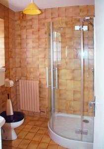 Salle d'eau du gîte La Longère à Baden Morbihan