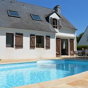Villa de la Plage avec piscine privée