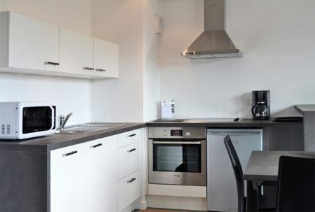 Cuisine appartement Les Hauts de Toulvern 4/6P