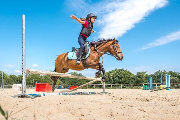 Cours et stages d'équitation au centre équestre Mané Guernehué