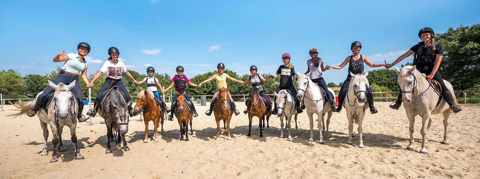 Séjour en gite avec stage d'équitation